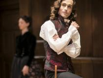 Tom Mison as Fainall in The Way of the World at the Donmar Warehouse