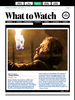 EW: What to Watch - Oct 2, 2015 Issue